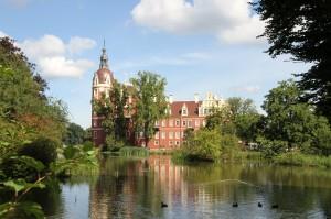 Schloss im Bad Muskauer Fürst-Pückler-Park